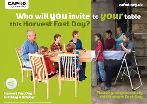 Harvest Fast Day poster 2013