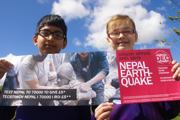 Pupils fundraise for Earthquake appeal