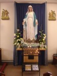 Statue of our Lady in Our Lady Star of the Sea church