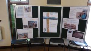 Lampedusa Cross display in Our Lady of Perpetual Succour Knighton