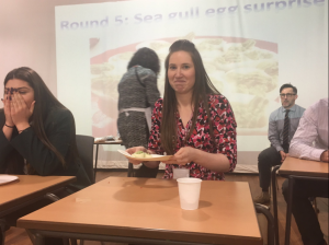 Braving the 'sea gull egg surprise' at the Bush tucker trial