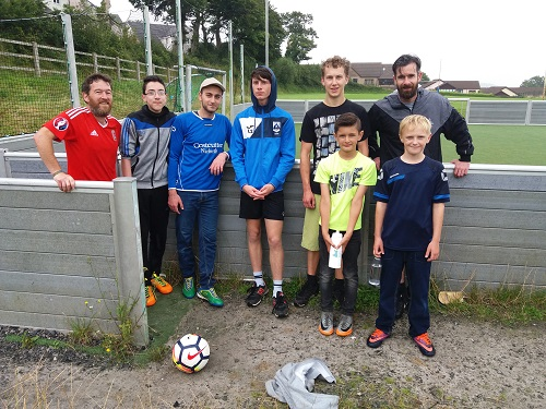 Refugees in Narbeth football