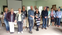 Attendees at HFD day of reflection at Ty Croeso