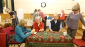 More parishioners at soup lunch