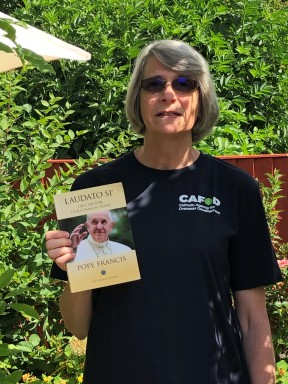 Jane with Laudato Si